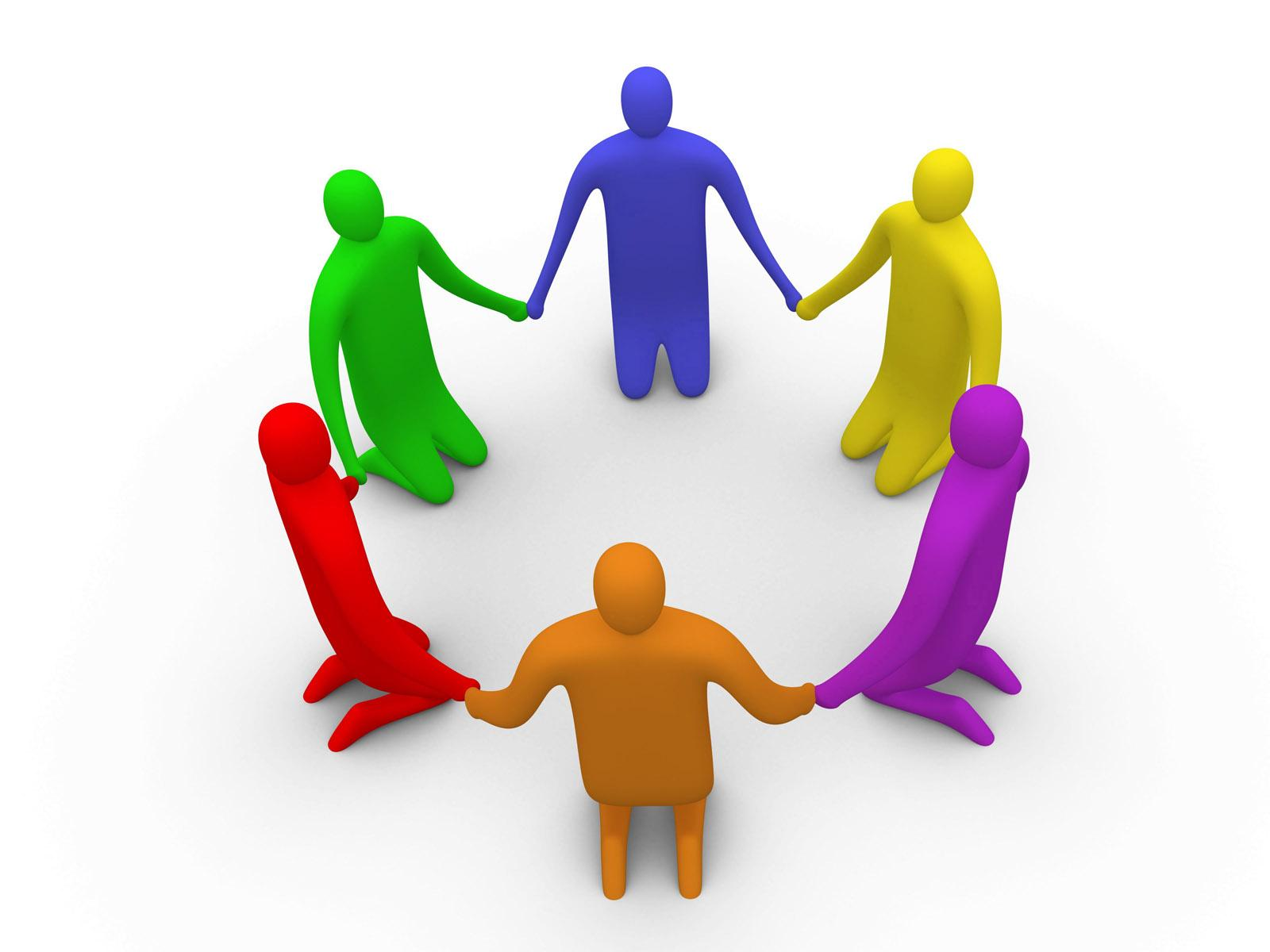 1600x1200 Animated Teamwork Clipart
