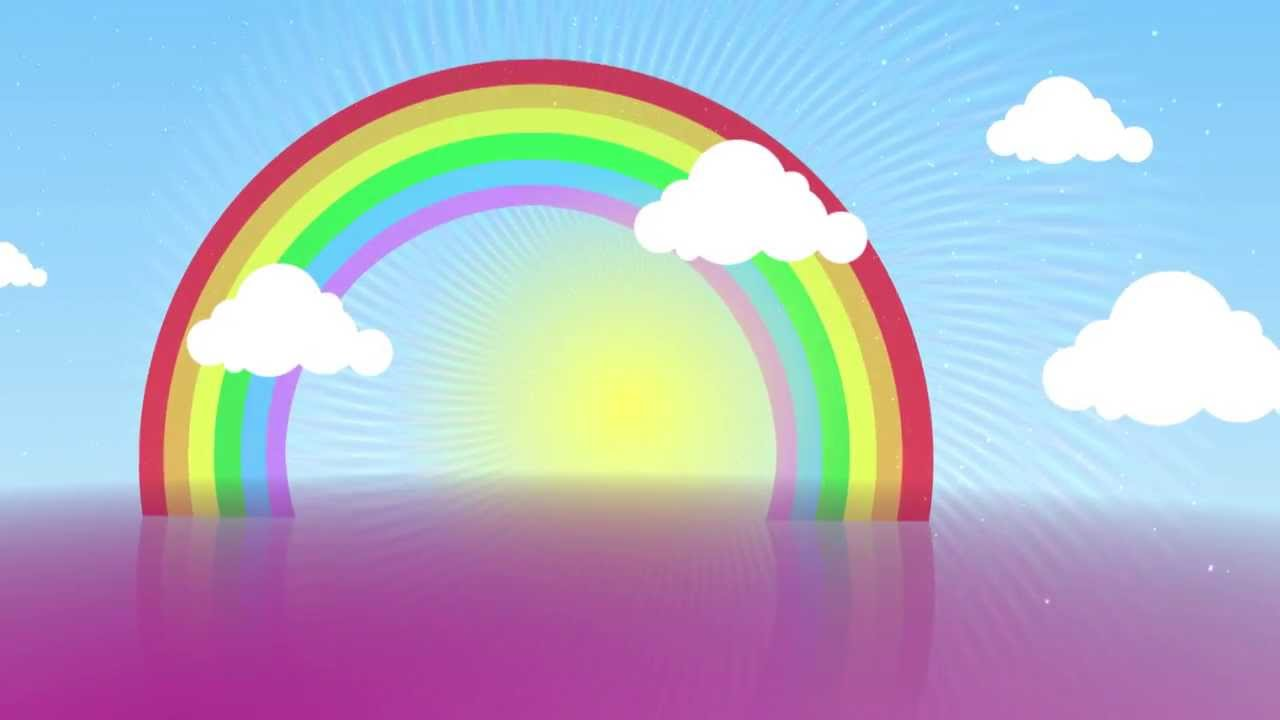 1280x720 Shiny Day Rainbow Free Animation Background Aa Vfx