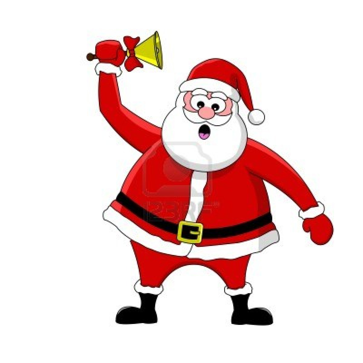 1200x1200 Animated Santa Clipart