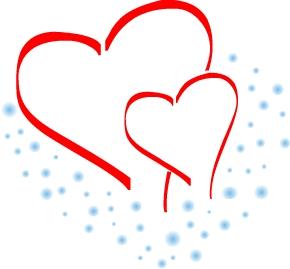 290x269 Hearts Clipart Anniversary