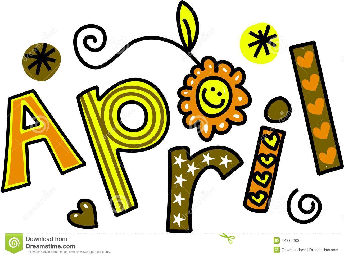 April happy. Free clipart download best