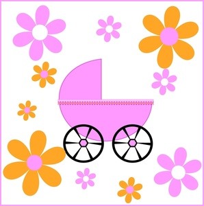 298x300 Free Baby Carriage Clipart Image 0515 1004 0100 2838 Baby Clipart