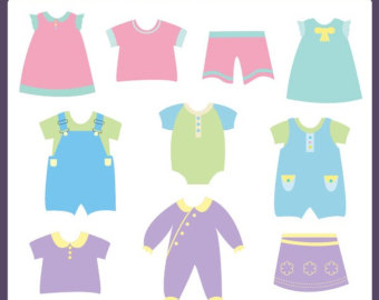 340x270 Free Baby Clothing Clipart