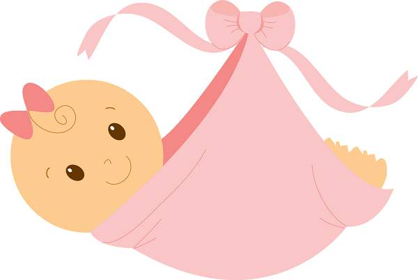 600x402 Free Baby Girl Clipart