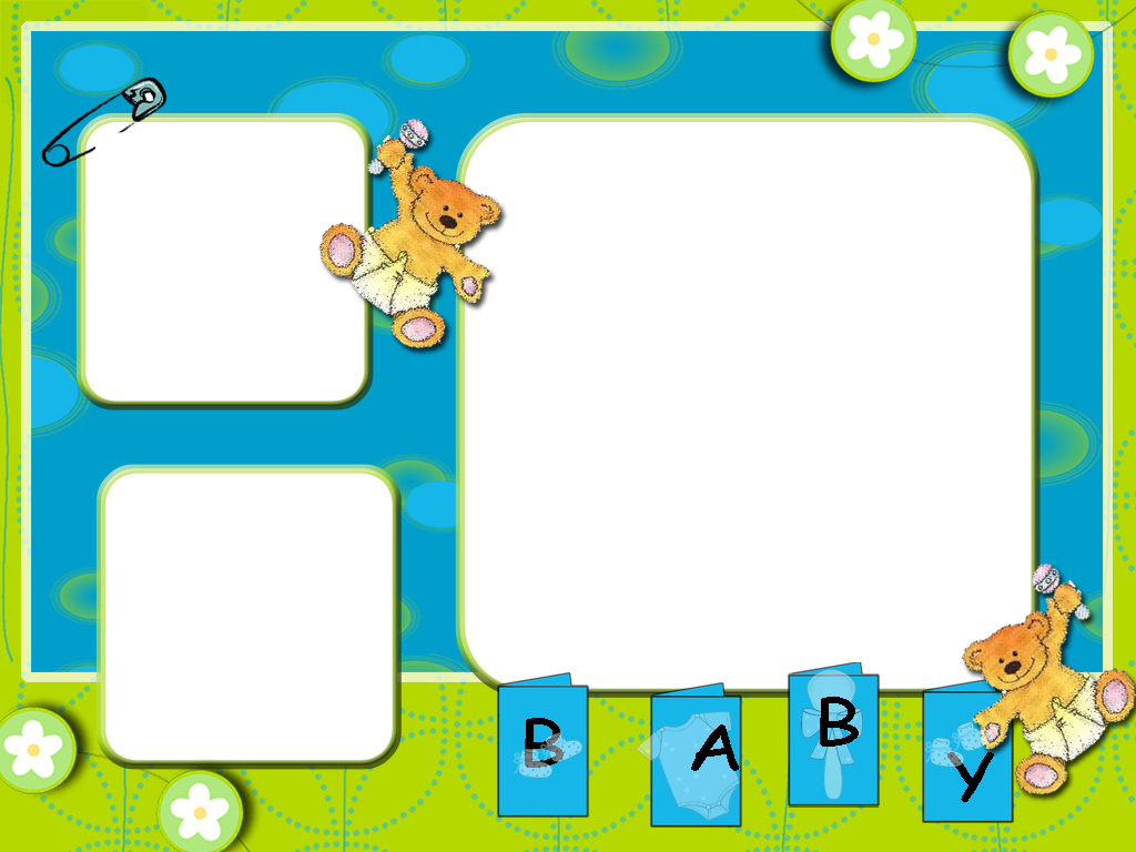 1024x768 Baby Frames Cliparts 176049