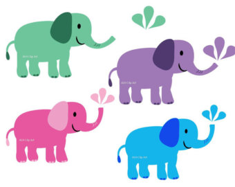 340x270 Elephant Clipart Baby Shower