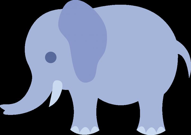809x572 Free Baby Elephant Clipart Image