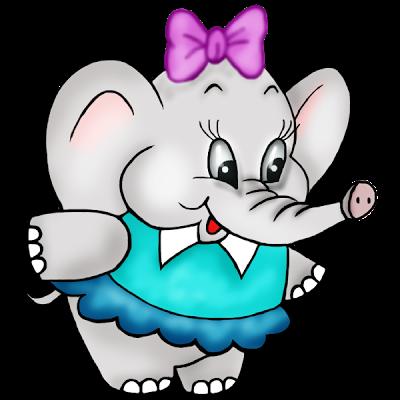 400x400 Baby Elephant Clipart Cute Baby Elephant Clipart Free