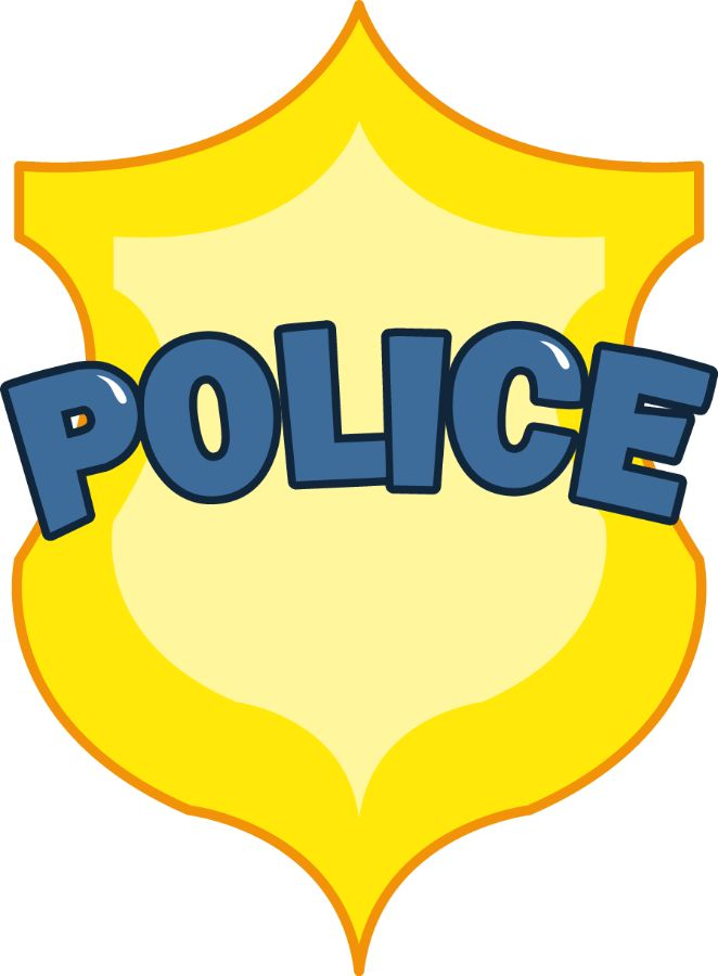 662x900 Police officer badge clipart free images 4