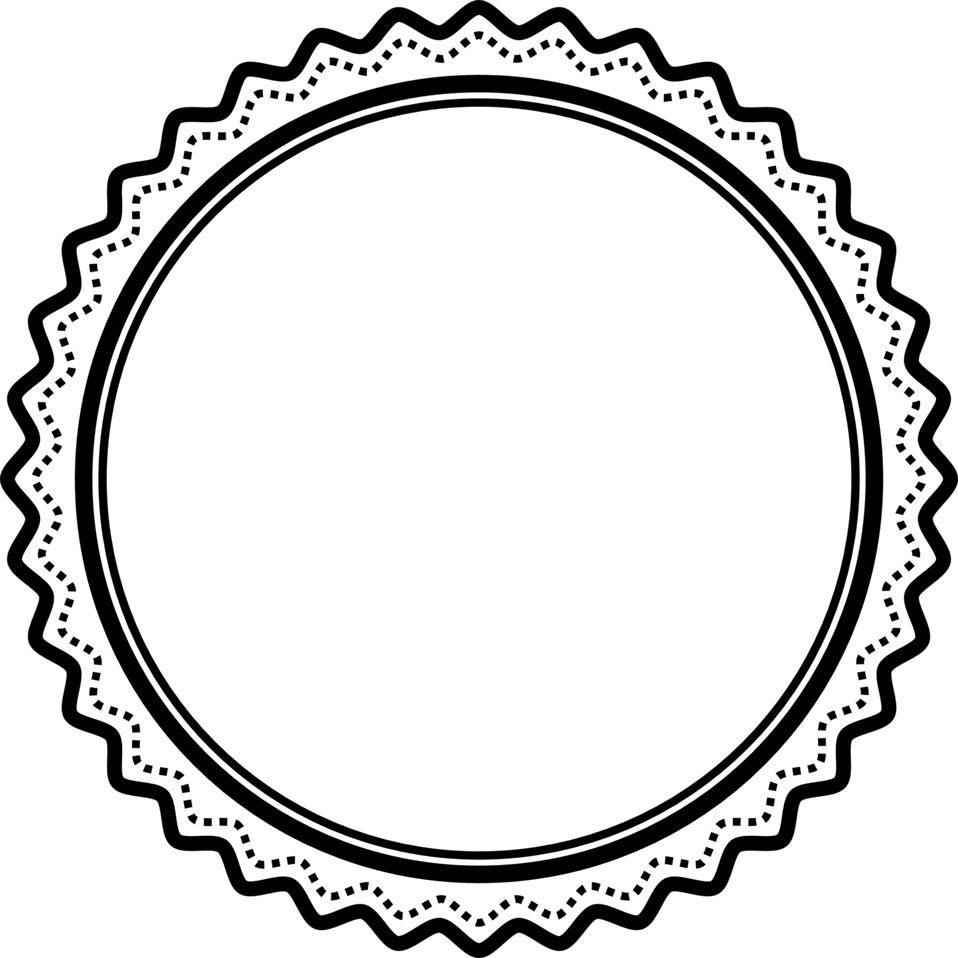 958x958 Public Domain Clip Art Image Fancy Badge 2 ID 13925235613090