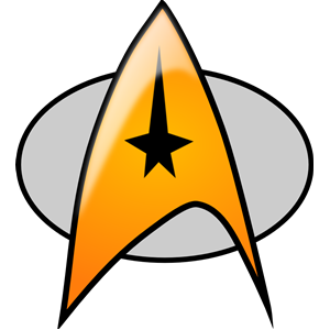300x300 star trek badge clipart, cliparts of star trek badge free download