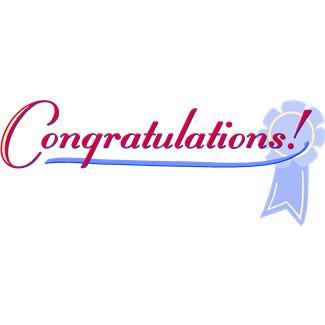 325x325 Free Clip Art Congratulations Banner 101 Clip Art