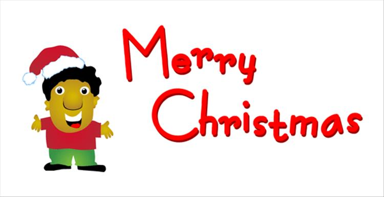 750x385 Merry Christmas Clip Art Free Banner