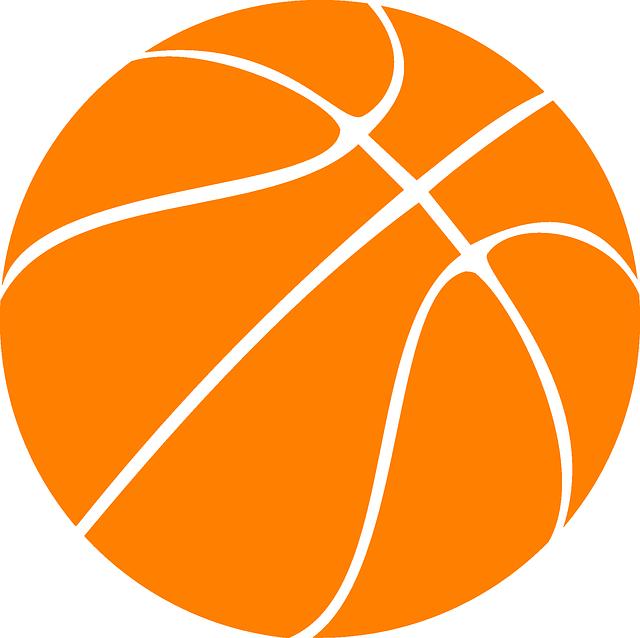 640x638 Basketball Clipart Free Printable 2