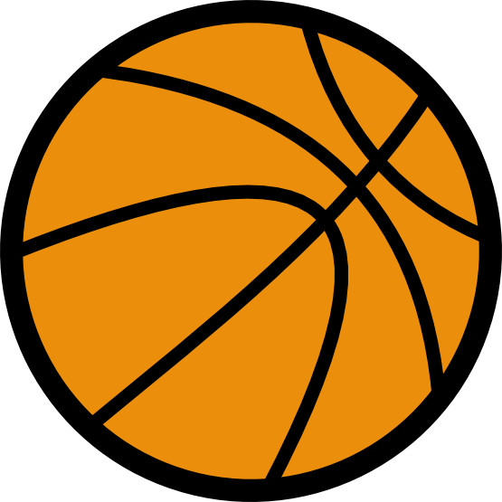 555x555 Free Basketball Clip Art Images