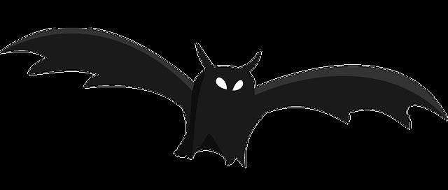 640x272 Bat Clip Art Image
