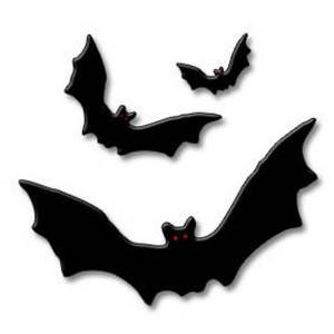 300x300 Bat Clipart Three