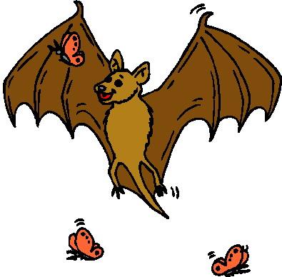 395x388 Bats Clip Art Image