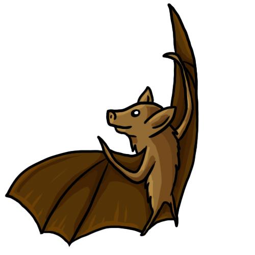 500x500 Free Bat Clip Art Drawings Andlorful Images