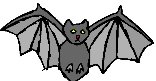 542x283 Free Bat Clip Art Drawings Andlorful Images 4