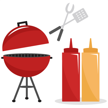 432x432 Bbq Set Svg Cutting Files Summer Svg Cut Files Grill Svg Files