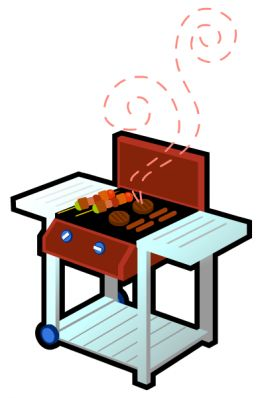 260x398 Black And White Bbq Clipart Free Images