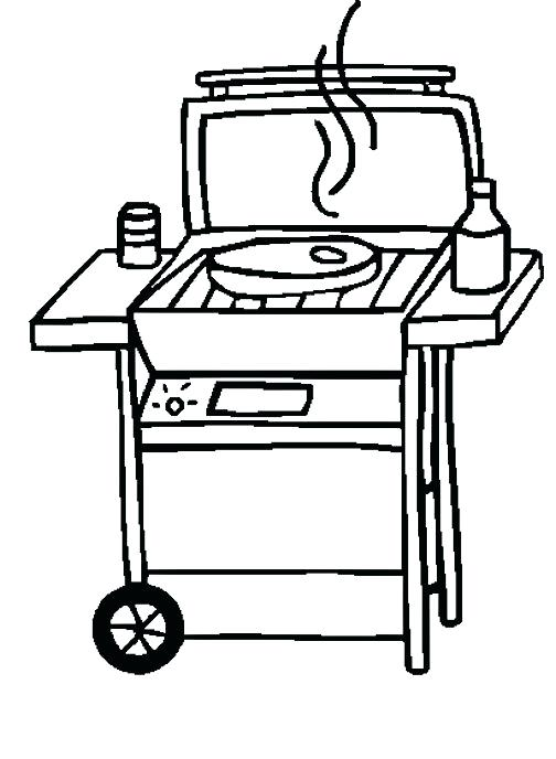 504x688 Free Bbq Clipart Barbecue And Grill Party Stamp Download Royalty