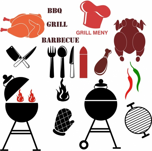 600x593 Barbecue Free Vector Download (30 Free Vector) For Commercial Use