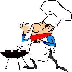 250x250 Barbecue Clipart Cartoon