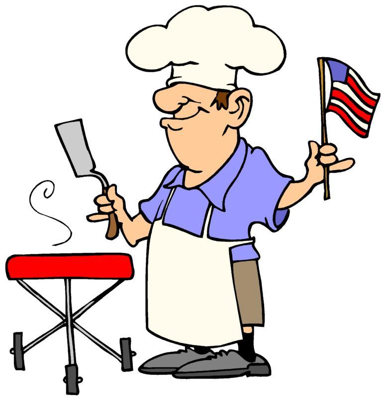 768x798 Barbecue Clipart Bbq Chef