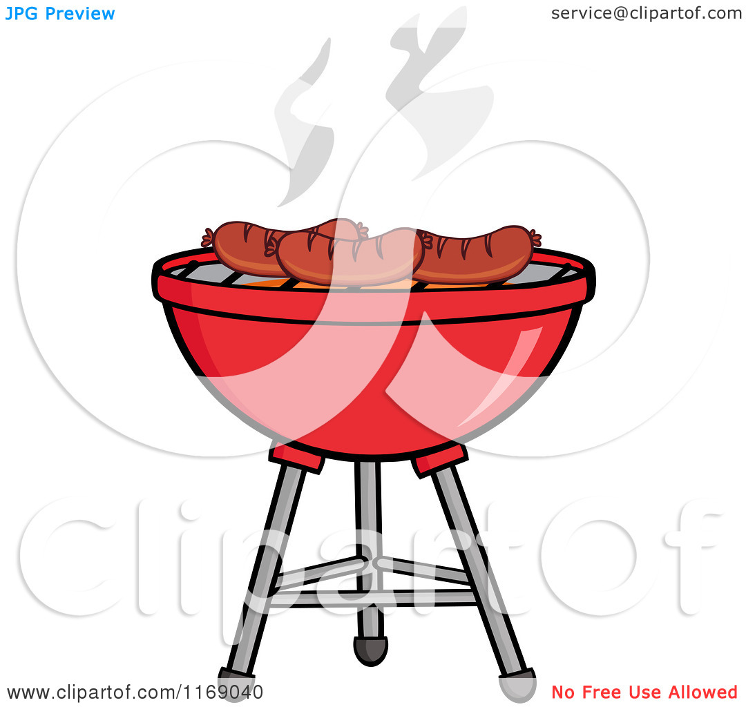 1080x1024 Barbecue Clipart Bbq Sausage