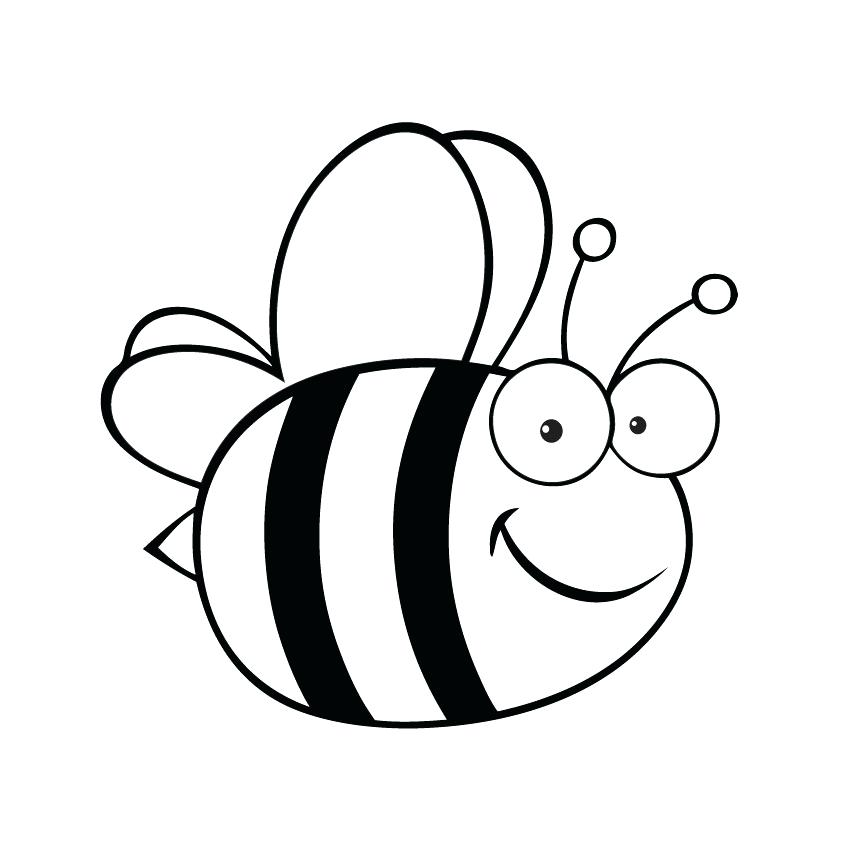 850x850 Bumble Bee Clipart Vector Stock Cartoon Fat Bumble Bee