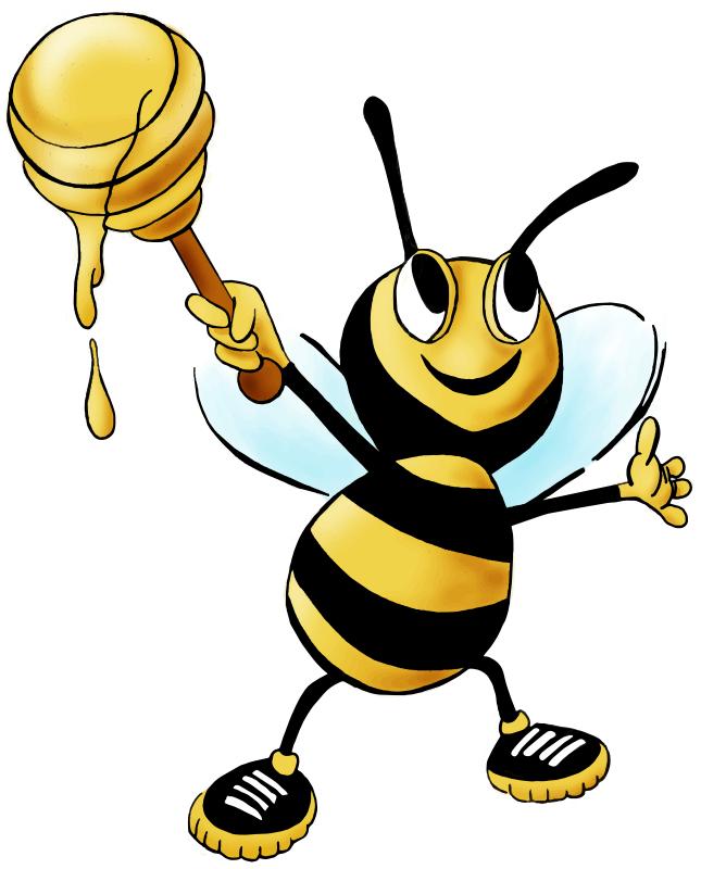 645x800 Honey Bee Clip Art