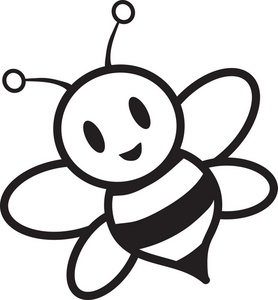 278x300 Cute Bee Clipart Black And White Free Clipart Images