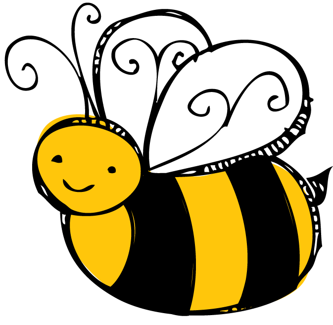 673x657 Spelling Bee Clipart Black And White Free