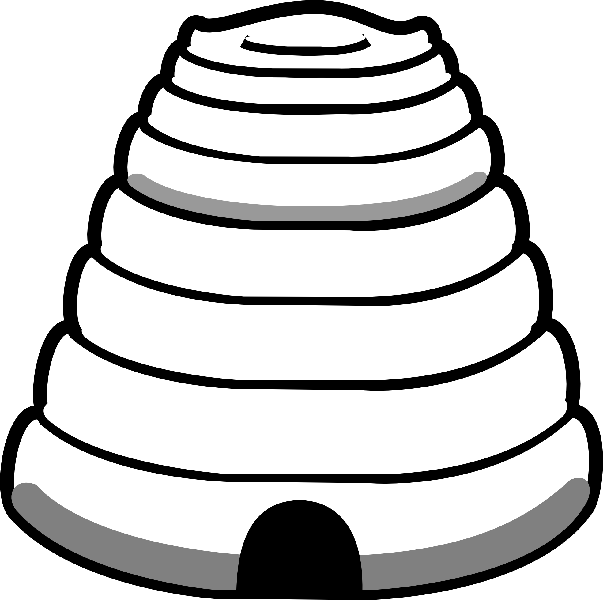 1969x1959 Bee Hive Clipart Outline