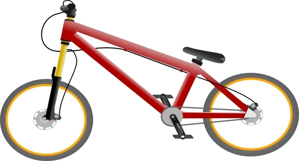 Free Bicycle Clipart