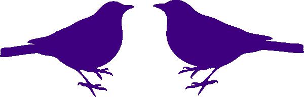 600x192 Bird Silhouette Love Birds Clip Art Silhouette Free Clipart Images