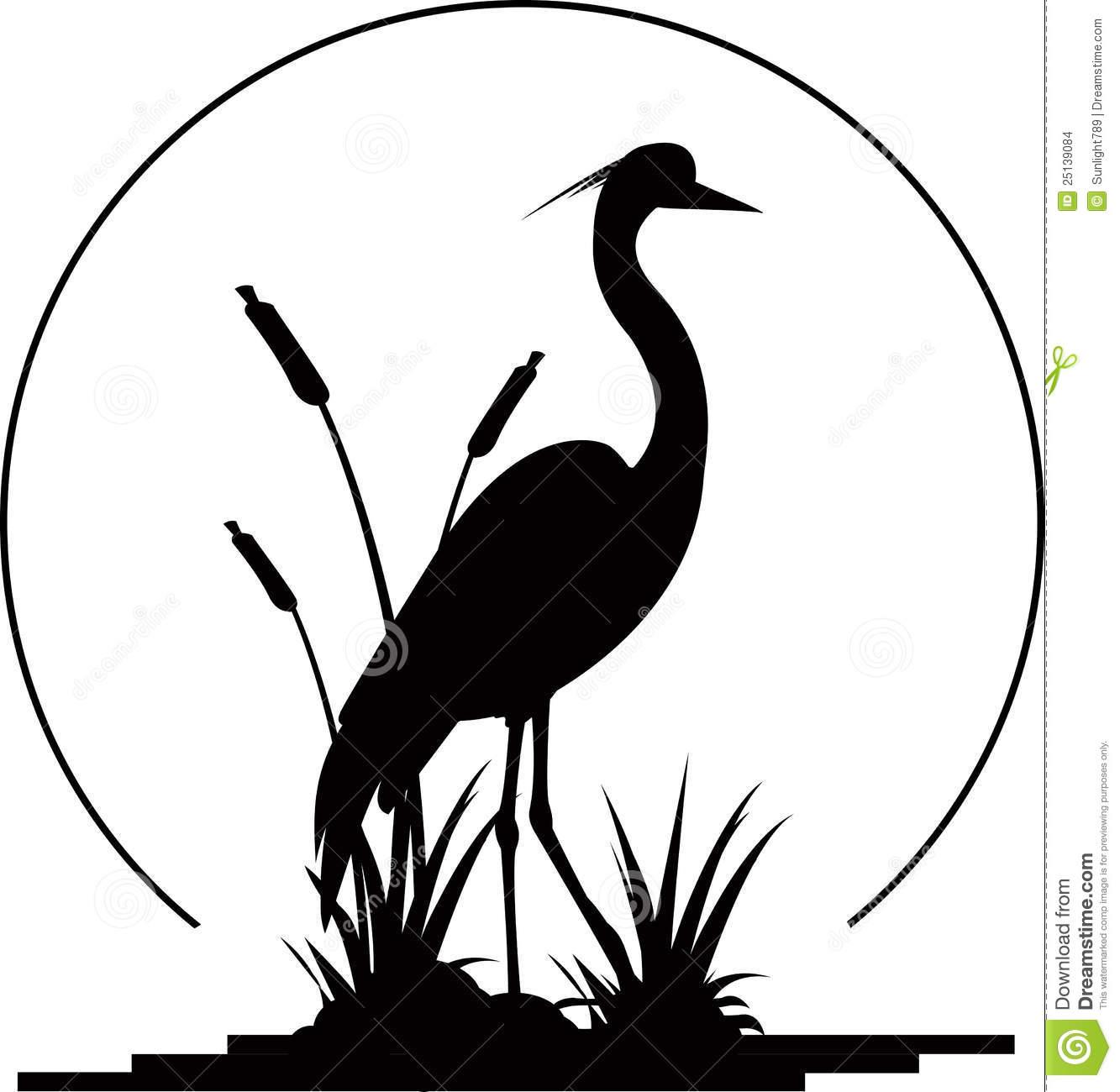 1333x1300 Heron Clipart Silhouette