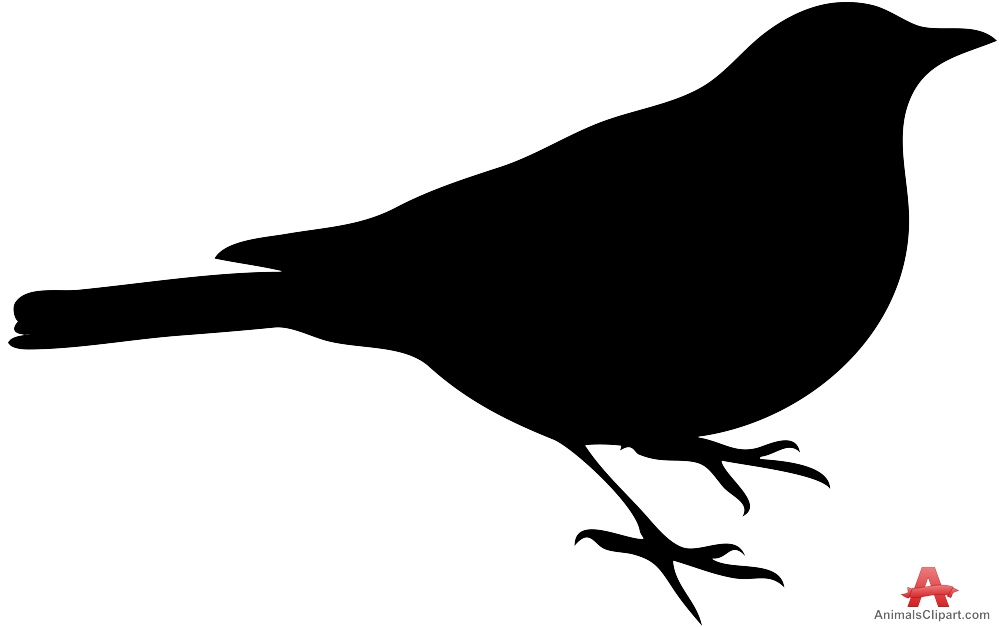 999x627 Bird Silhouette Free Clipart Design Download