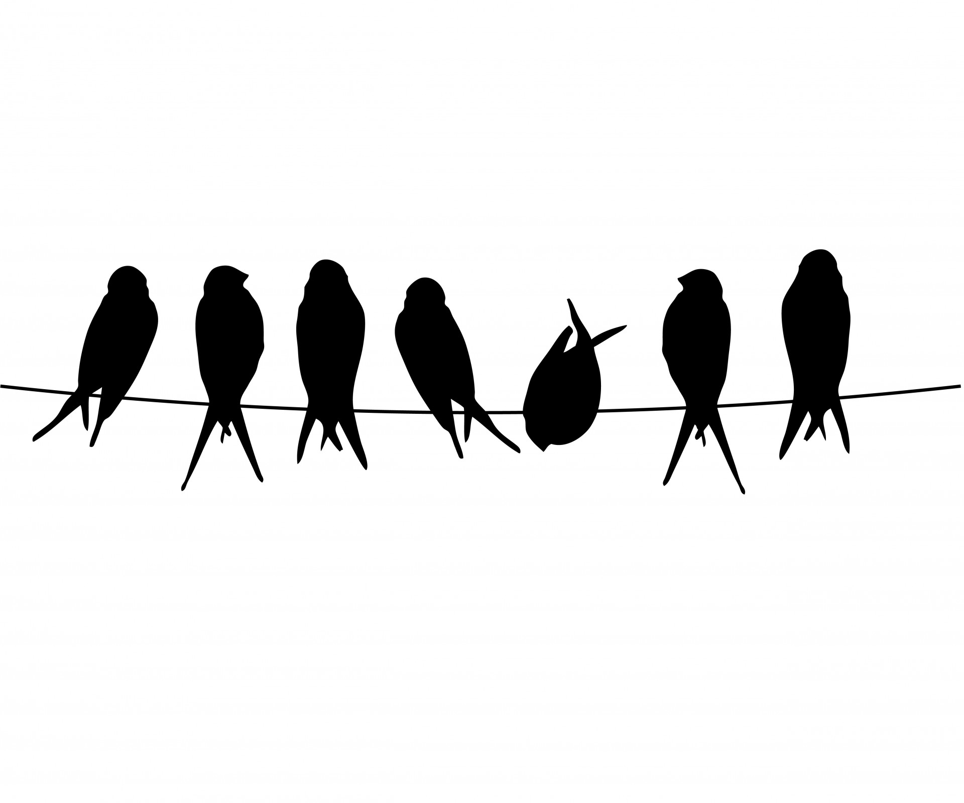 1920x1599 Bird Silhouette Transparent Clipart