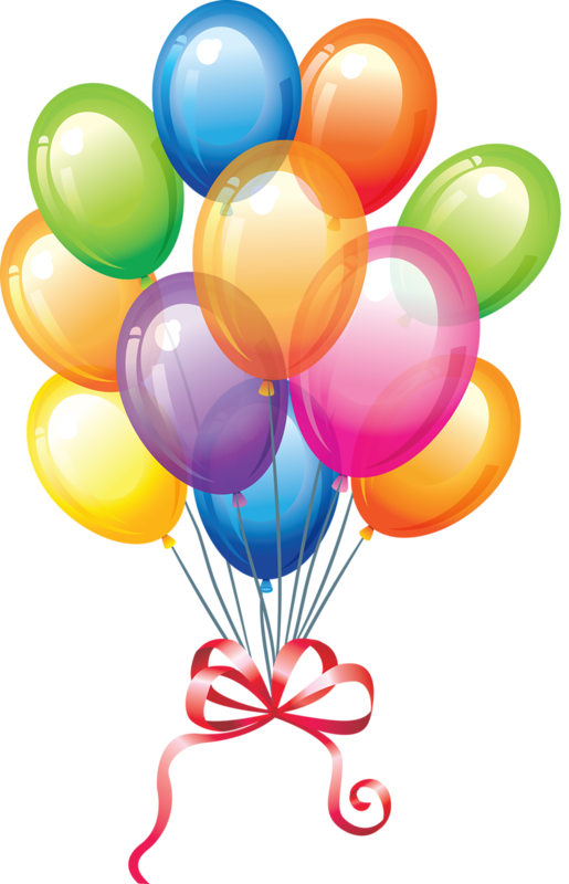515x800 Birthday Balloons Free Birthday Balloon Clip Art Clipart