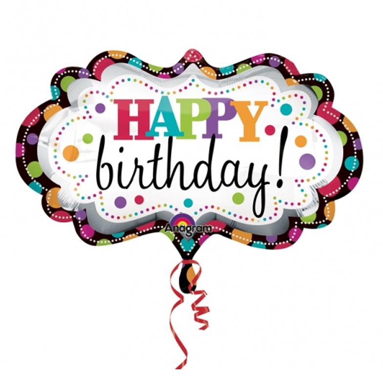 784x784 Clipart Happy Birthday Balloons