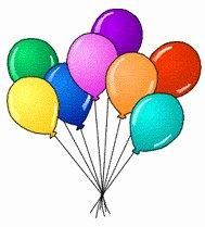 189x209 Free Birthday Balloons Clipart