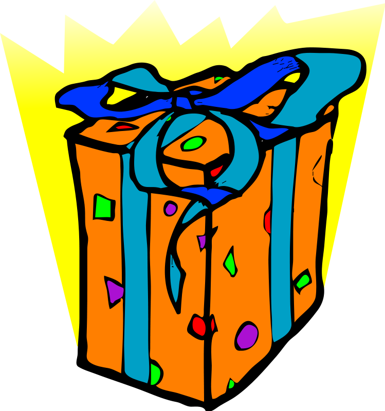 749x800 Happy Birthday Present Clip Art Clipart