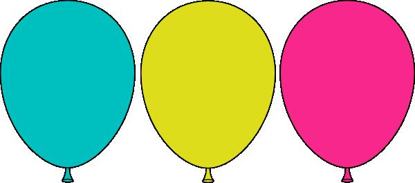 600x264 Panda Clipart Balloon