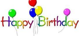 272x125 Free Birthday Balloon Clip Art Clipart Panda
