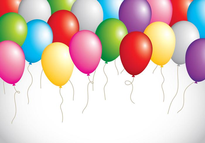700x490 Birthday Balloons Free Vector Art