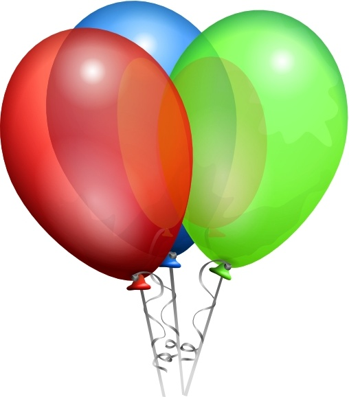 508x578 Free Birthday Balloon Clipart