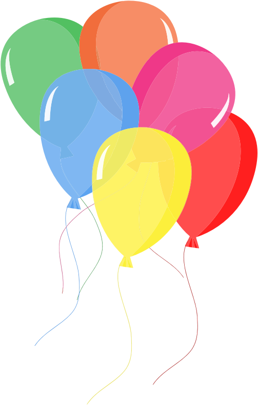 503x788 Best Birthday Balloons Clipart